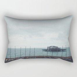 Brighton Old Pier Rectangular Pillow