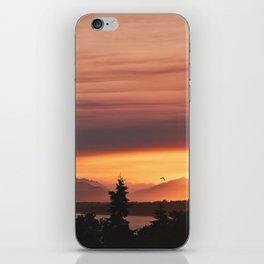 Smoky Sunset iPhone Skin