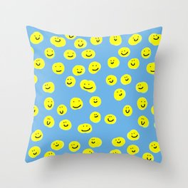 Happy Family Throw Pillow