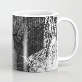 Vancouver after the rain, street photography print, urban black and white art Coffee Mug