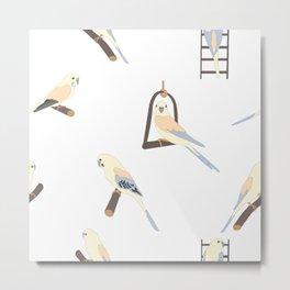 Birdies Metal Print