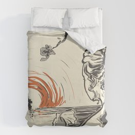 Once, I Hated the Sun Duvet Cover