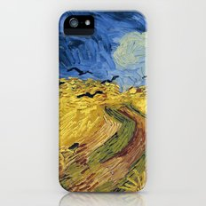 Wheatfield with Crows by Vincent van Gogh iPhone (5, 5s) Slim Case