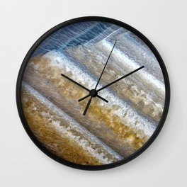 Agate under the Microscope 10-8-18 Wall Clock