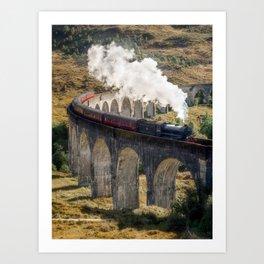 Hogwarts Express,vertical Art Print