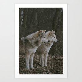 Cana and Logan Art Print