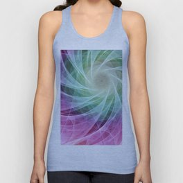 Whirlpool Diamond 2 Computer Art Unisex Tank Top