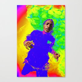 Four White People Canvas Print