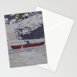 Casting Off - On the Rio Grande Stationery Cards