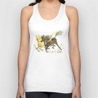 horses Tank Tops featuring Horses by JoJo Seames