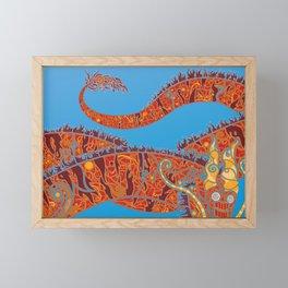 Red Dragon Framed Mini Art Print