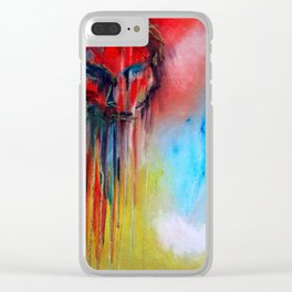 A Brother's Pain Clear iPhone Case