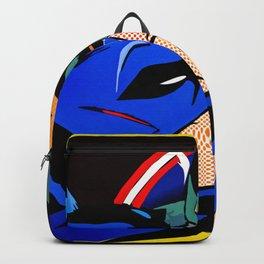 Cap kissing Bruce Backpack