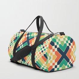 Retrographic Duffle Bag
