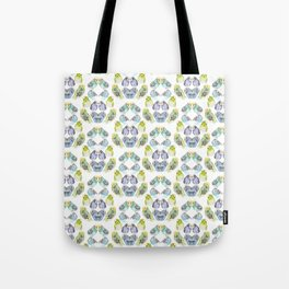 Budgie Kaleidoscope  Tote Bag
