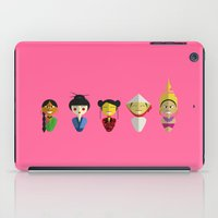asian iPad Cases featuring Asian Dolls by Aurelie Scour