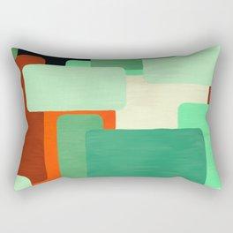 Levels, Mid Century Design Rectangular Pillow