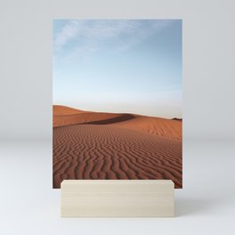 Fine Desert Structures Photo   Sahara Desert Morocco Art Print   Landscape Nature Travel Photography Mini Art Print
