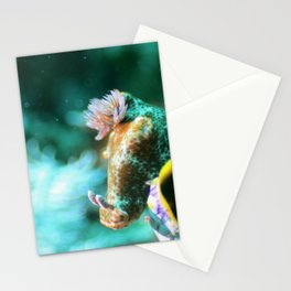 Ethereal nudibranch Stationery Cards