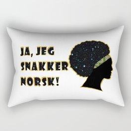 Ja, jeg snakker norsk! Rectangular Pillow