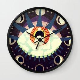 Celestial Sight Wall Clock