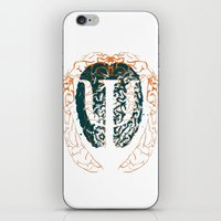 psychology iPhone & iPod Skins featuring Psychology Brain by Insean