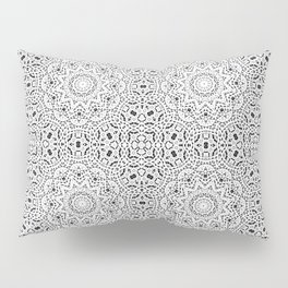 Gray ornament Pillow Sham