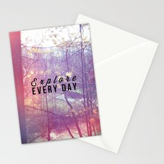 Explore Every Day Stationery Cards