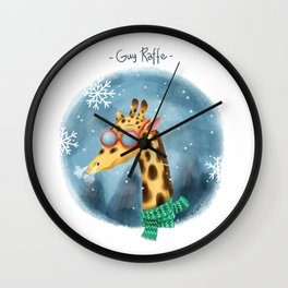 Guy Raffe Wall Clock