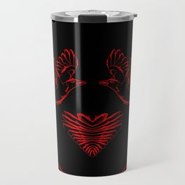 Love birds for the heart and soul. Travel Mug