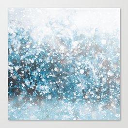 Snowflakes Canvas Print