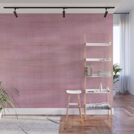Soft Pink Dry Brush Paint Strokes, Texture Art Wall Mural