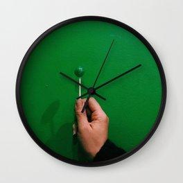 lollipop, meet wall Wall Clock
