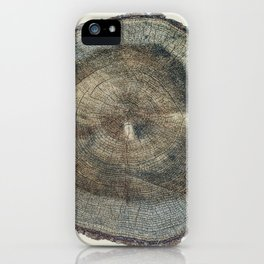 Stump Rings iPhone Case