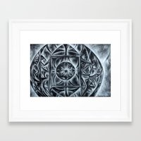 return Framed Art Prints featuring Return by Hilary Dow