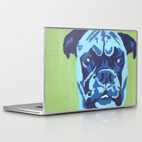 boxer Laptop & iPad Skins featuring Boxer by mkfineart