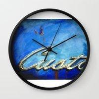custom Wall Clocks featuring Custom by Anthony Billings