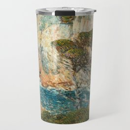 Point Lobos, Carmel California by Childe Hassam Travel Mug