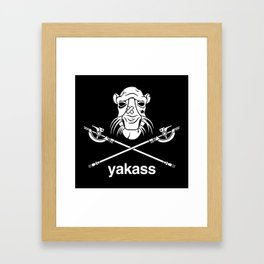 Yakass Framed Art Print