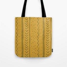 Moroccan Stripe in Mustard Yellow Tote Bag
