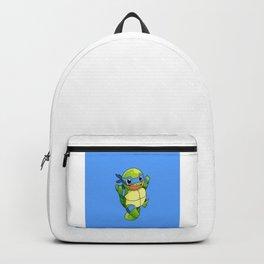 TMNT_POKET_MONSTER_BLUE Backpack