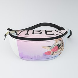WEEKEND VIBES CAT Fanny Pack