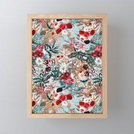 Summer Botanical Garden XIII Framed Mini Art Print