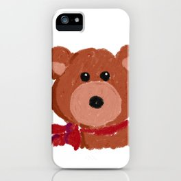 The Bear Has It! iPhone Case