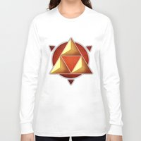 triforce Long Sleeve T-shirts featuring Triforce by lythy