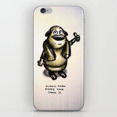 Towel Day :) iPhone & iPod Skin
