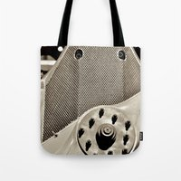 aviation Tote Bags featuring Aviation Pioneers by Simmons Universe