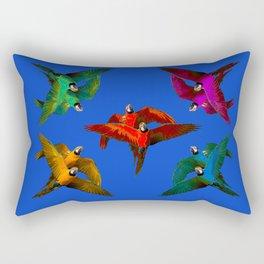 Parrots Party Rectangular Pillow