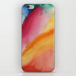 waterolor iPhone Skin