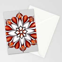 Mandala 10 Stationery Cards